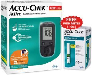 best glucometers Accu Check Active Blood Glucose Meter Kit